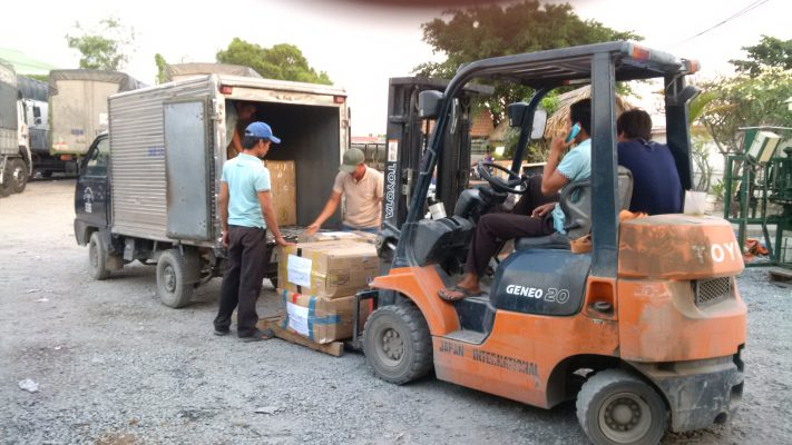 Vận chuyển hàng hóa theo chuyến