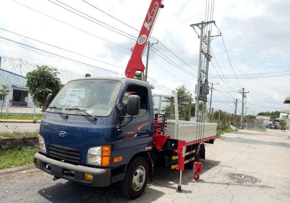 Xe Cẩu Hyundai 2 Tấn